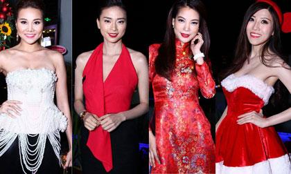 Dàn mỹ nhân Việt khoe sắc rạng ngời trên thảm đỏ