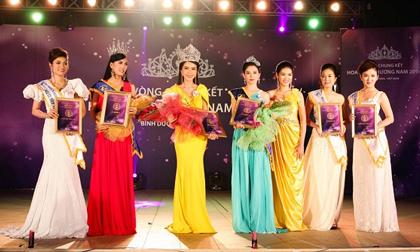 Người đẹp đến từ Vĩnh Long đăng quang Hoa Khôi Phương Nam 2014