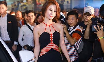 """Diễm My diện váy hở táo bạo ra mắt phim """"Tốc Độ & Đường Cong"""""""