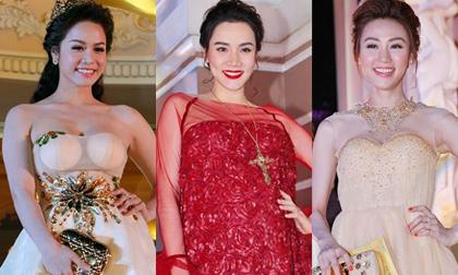 Bà bầu Trang Nhung đẹp rạng rỡ giữa dàn mỹ nhân Việt