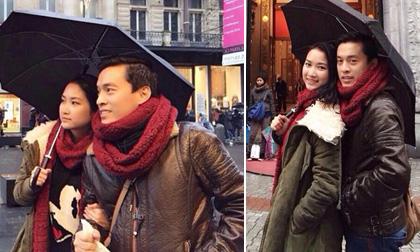 Vợ chồng Lam Trường vui vẻ đi 'du hí' châu Âu