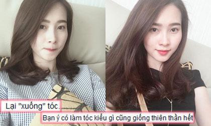 Hoa hậu Đặng Thu Thảo khoe tóc mới xinh như búp bê