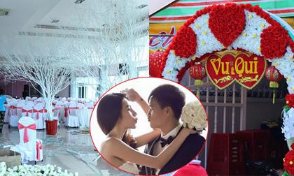'Đột nhập' hậu trường chuẩn bị tiệc cưới 2 tỷ của Thủy Tiên
