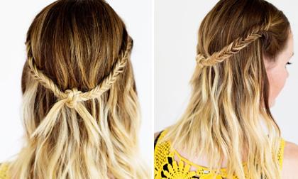 Học nhanh kiểu tóc tết bohemian ngọt ngào ngày đông