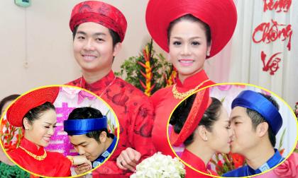 Nhật Kim Anh được đón dâu bằng 'những nụ hôn'
