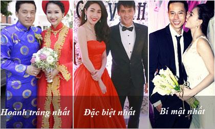 Những cái 'chất' nhất trong đám cưới của sao Việt năm 2014