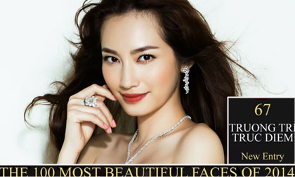 Trúc Diễm lọt Top 100 gương mặt đẹp nhất Thế giới năm 2014