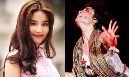 Diễm My 9X lộ ngực trên sân khấu, Sốc Diễm My lộ hoàn toàn
