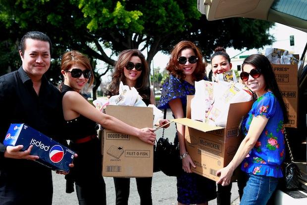 Hoa hậu,hoa hậu phụ nữ người Việt Thế Giới đi từ thiện