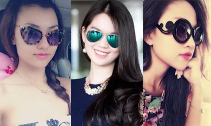 Những chiếc kính mắt hàng hiệu khiến mỹ nhân Việt mê mẩn