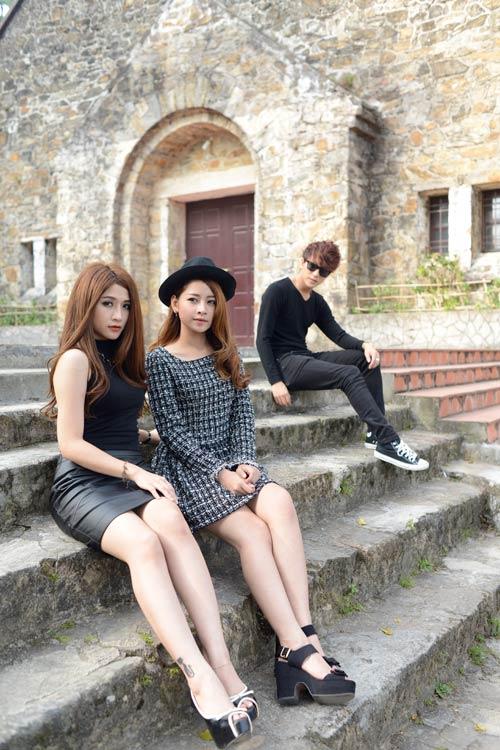 Hotgirl,hotboy,rạng rỡ,trẻ trung,trong nhóm 5S Online,ChiPu