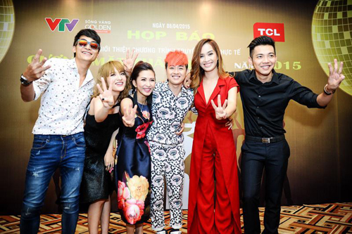Gương mặt thân quen 2015, Thanh Duy Idol, Nhật Thủy Idol, Mai Quốc Việt, Khương Ngọc