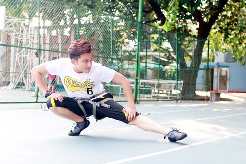 Chi Pu, Chí Thiện, Nước thể thao Sponsor