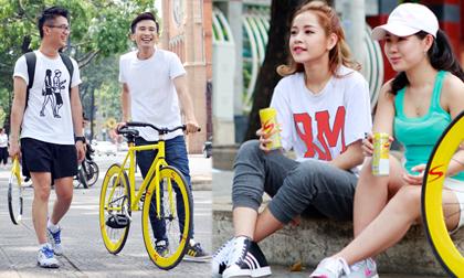 Chi Pu, Chí Thiện, Sao Việt, Nước khoáng Sponsor