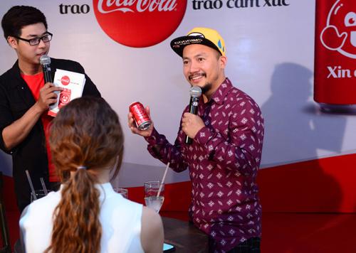 Tiến Đạt, Hari Won, Chi Pu, Coca-cola, Sao việt bày tỏ cảm xúc