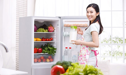 tiết kiệm điện, bảo quản tủ lạnh, nhét tờ tiền vào khe cửa tủ lạnh