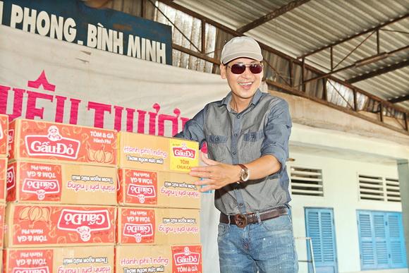Hoàng Mập, Sao việt làm từ thiện, Trại phong Bình Minh