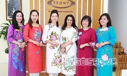 Thời trang Peony, Peony, Áo Dài Peony, Thương hiệu thời trang Peony, Peony ra mắt bộ sưu tập