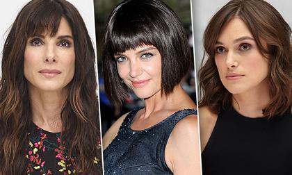 chọn tóc phù hợp khuôn mặt, mặt trái tim, mặt tròn, làm đẹp,