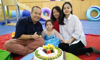 Vợ chồng Phạm Quỳnh Anh tổ chức sinh nhật cho con gái 'rượu'