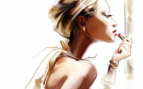 phụ kiện của phái đẹp, Ví thời trang Color Block, Viên uống Hoa  Thiên