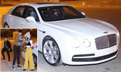 Vắng Midu, Phan Thành đi siêu xe đắt đỏ dự event cùng hotgirl Salim