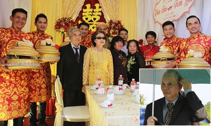 Bố mẹ Hoài Linh 'đội nắng' về Tiền Giang dự đám cưới con nuôi Thiên Bảo