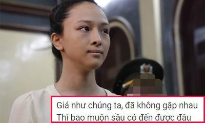 Lý do bất ngờ khiến Hoa hậu Phương Nga nhờ mang lời bài hát 'Cành hoa trắng' vào trại giam