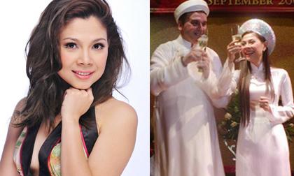 Lộ ảnh đính hôn của ca sĩ Thanh Thảo và bạn trai Tây hơn 10 năm trước