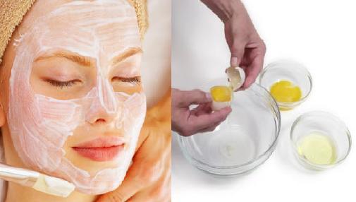 Kết quả hình ảnh cho cách chữa dị ứng da mặt nhanh nhất với lòng trắng trứng gà
