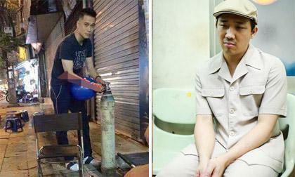 Tin sao Việt mới 28/4: Việt Anh bơm bóng cười trên vỉa hè? Trấn Thành 'mặt nặng như chì' sau khi bị cấm sóng