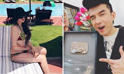 Tin sao Việt mới 24/6/2017: Trang Nhung lộ vòng hai ngấn mỡ, Đan Trường đạt được nút bạc của Youtube