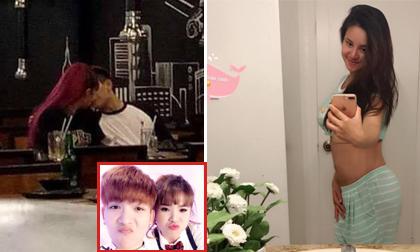 Tin sao Việt 27/7/2017: Bắt gặp Khởi My hôn Kelvin Khánh trong nhà hàng, Vy Oanh tự tin khoe vòng eo sắp thon vì chăm con vất vả