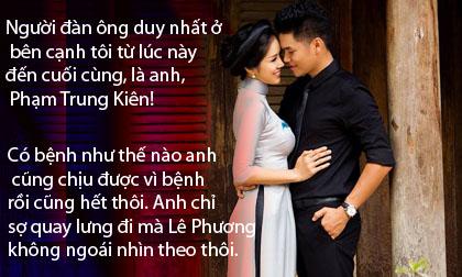 Những câu nói 'ngọt như mía lùi' mà Lê Phương và chồng trẻ dành cho nhau