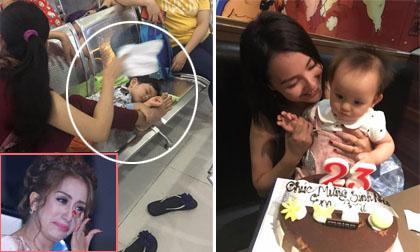 Tin sao Việt 18/8/2017: Khánh Thi lo lắng khi con trai nhập viện cả đêm, Hồng Quế đón sinh nhật bên con gái