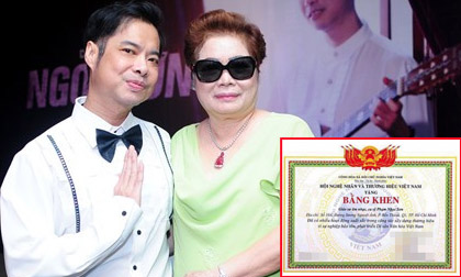 Con trai bị chỉ trích về bằng khen 'Giáo sư âm nhạc', mẹ Ngọc Sơn lên tiếng