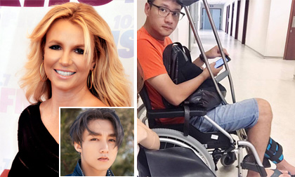 Tin sao Việt 22/8/2017: Britney Spears theo dõi fanpage của Sơn Tùng M-TP, chồng Đan Lê bị chấn thương tràn dịch khớp gối