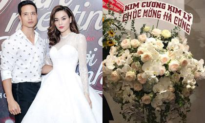 Hà Hồ một phen hú vía, công chúng 'ngã ngửa' trước sự thật về lẵng hoa 'Kim Cương Kim Lý'
