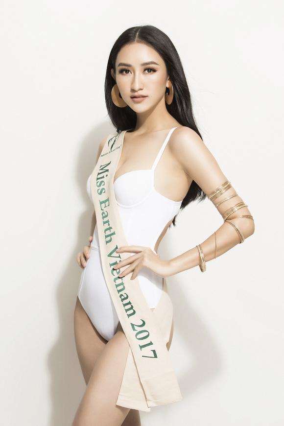 Người đẹp hà thu,hà thu diện bikini,Miss Earth 2017,album ảnh sao,sao Việt