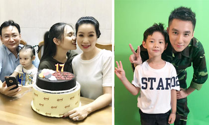 Tin sao Việt 22/9/2017: Vợ chồng Trịnh Kim Chi kỷ niệm 17 năm ngày cưới, con trai Đăng Khôi được chụp ảnh cùng Sơn Tùng