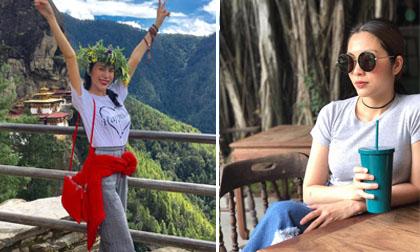 Tin sao Việt 23/9/2017: Thủy Tiên vẫn rạng rỡ dù leo 14 cây số lên núi, Tăng Thanh Hà sống chậm để yêu cuộc sống hơn