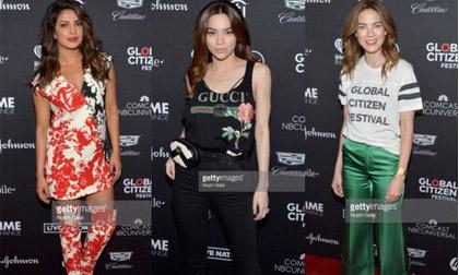 Hồ Ngọc Hà 'lẻ bóng' tại sự kiện từ thiện toàn sao Hollywood dù đi New York cùng Kim Lý