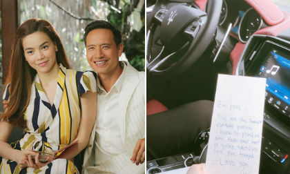 Hồ Ngọc Hà khoe nhận được thư tình viết tay vô cùng lãng mạn từ Kim Lý?