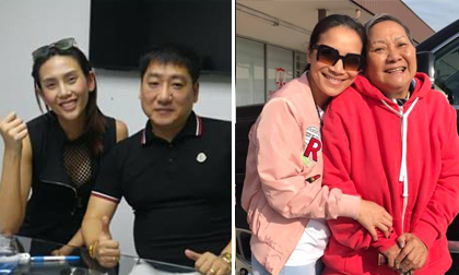 Tin sao Việt ngày 20/10/2017: Võ Hoàng Yến nhợt nhạt khi để mặt mộc, Hồng Ngọc buồn bã sau khi tiễn mẹ về quê