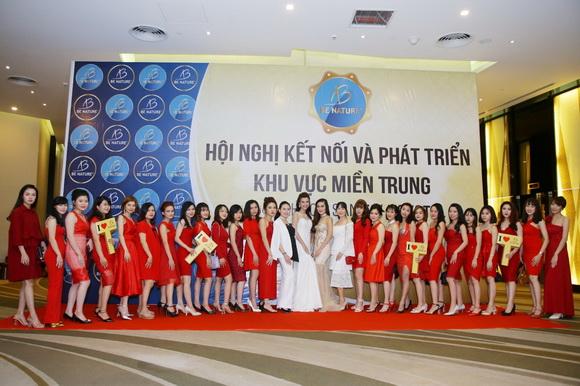 mỹ phẩm Be Nature, á hậu Hoàng Oanh, Be Nature