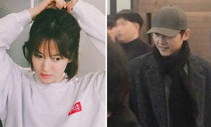Song Joong Ki và Song Hye Kyo, mẹ song joong ki, đi ăn nhà hàng