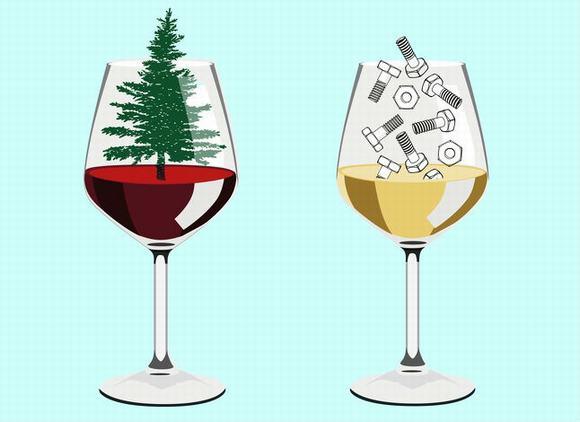 rượu vang, xác định rượu vang giả, rượu giả
