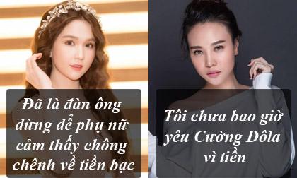 phát ngôn của sao Việt,phát ngôn giật tanh tách của sao Việt,phát ngôn giật tanh tách