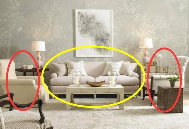 phong thủy phòng khách, đặt sofa theo phong thủy, sofa
