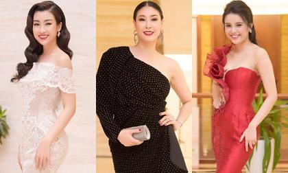 Dàn Hoa hậu, Á hậu lộng lẫy trên thảm đỏ Chung khảo khu vực phía Nam Hoa hậu Việt Nam 2018